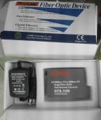 Converter Netlink HTB 3100 Single-mode 25 km loại 1 sợi quang sử dụng cho Internet và Camera IP
