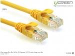 Cáp mạng đúc sẵn Cat5e 1M Ugreen 11230 màu vàng cao cấp Mã sản phẩm: 11230